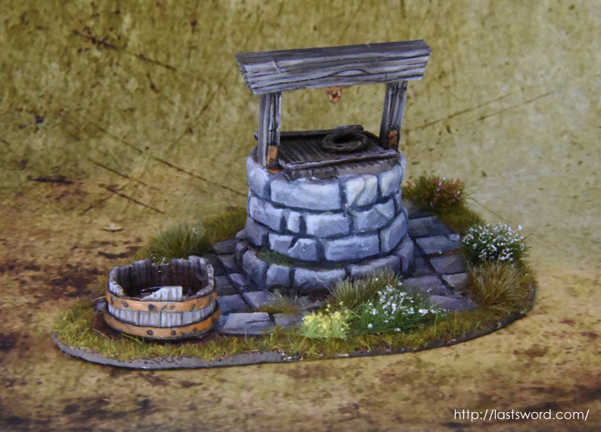 New and Old scenery. - Page 12 Pozo-Warhammer-Water-Well-Fantasy-Scenery-Mordheim-1650-Modelling-How-Scultp-08