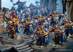 the Stormcall Eternal, the personal army of Sigmar in Age of Sigmar
