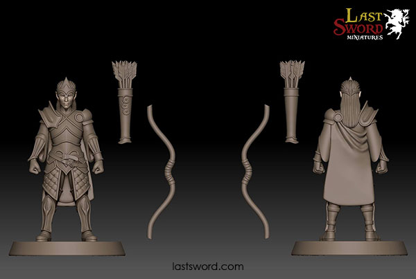 sisters - And Now Undeads! (kickstarter) Ulthuan-Elf-Elven-Lords-Bowmen-Archer-Concept-Warhammer-01