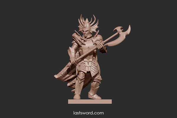 And Now Undeads! (kickstarter) - Page 2 Ulthuan-Elven-Dragon-Prince-Blade-Warhammer-highelf-highborn-01