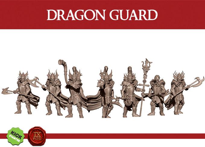 Kickstarter-Elven-Miniatures-Infantry-Dr