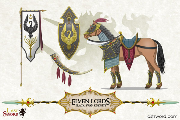 And Now Undeads! (kickstarter) - Page 4 Ulthuan-High-Elf-Elven-horse-reavers-EleinReavers-Warhammer-Ulthuan-01
