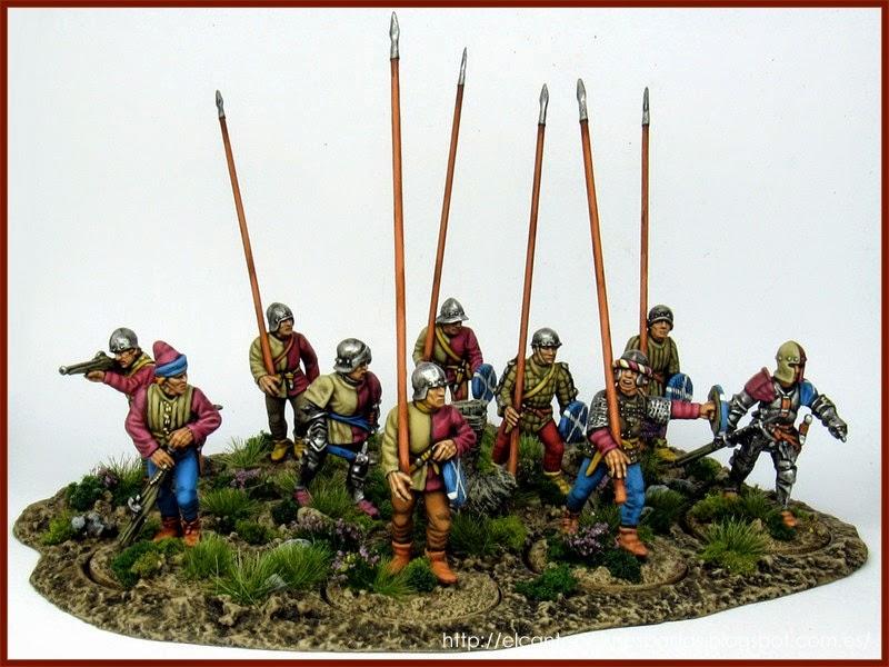 mercenarios-escoceses-scots-mercenaries-perry-miniatures-capitan-Blood-pikes-piqueros-1